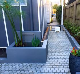 Sod Landscaping Design Brisbane - Courtyards
