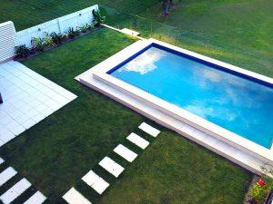 Sod Landscaping - Pool