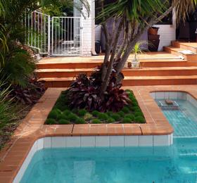 Sod Landscaping Design Brisbane - Pool Areas